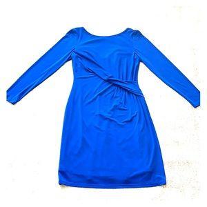 Blue long sleeve Vince Camuto dress